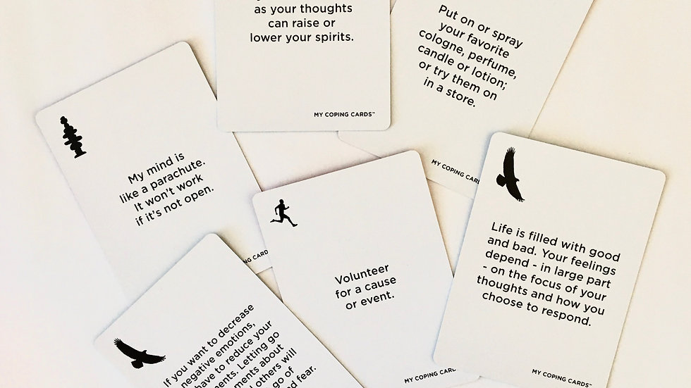 Click Here to Order a Printable Digital Deck of My Coping Cards™