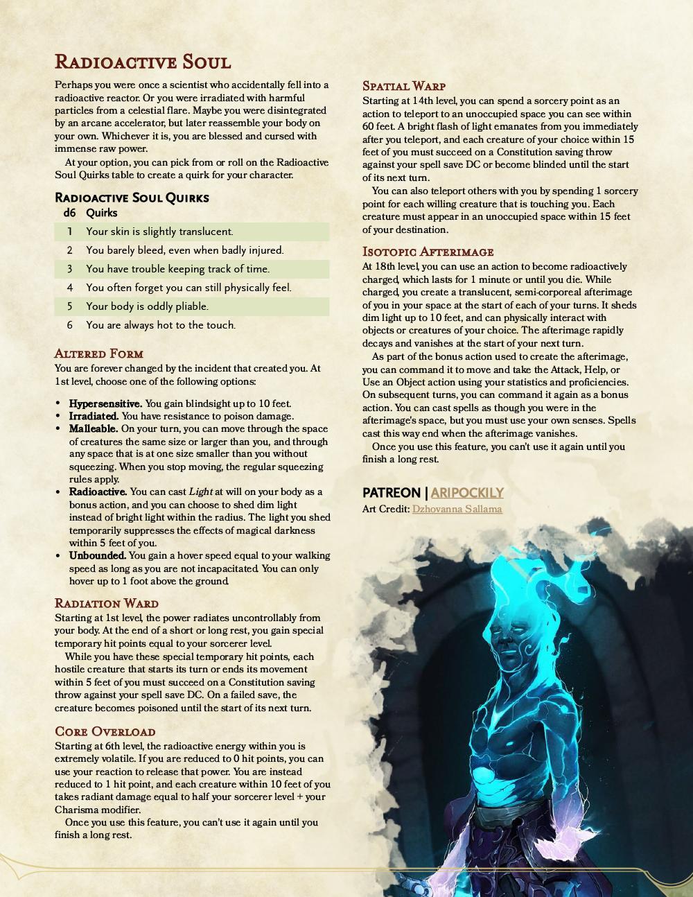 Sorcerer - Radioactive Soul