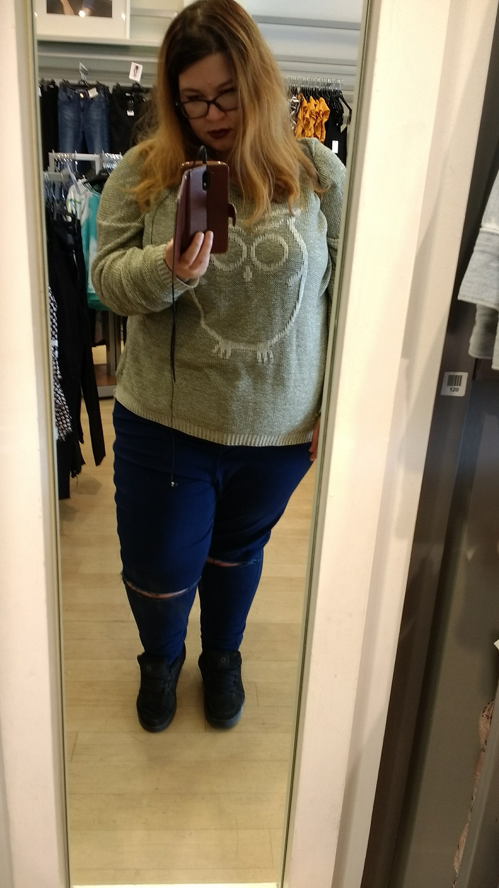 Plus size//Skinny Jeans//Missguided Vice Jeans