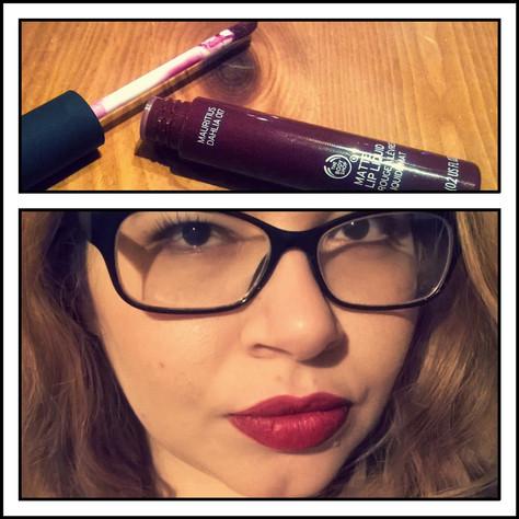 The Body Shop's Matte Lip Liquid in Review