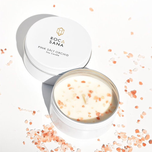 Pink Salt Orchid - Travel Candle