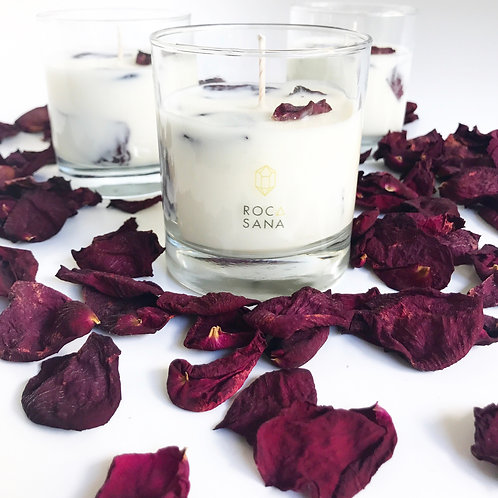 Amber Rose Soy Candle
