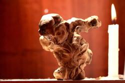 Nefilim 7____argila e cera de abelha__2012