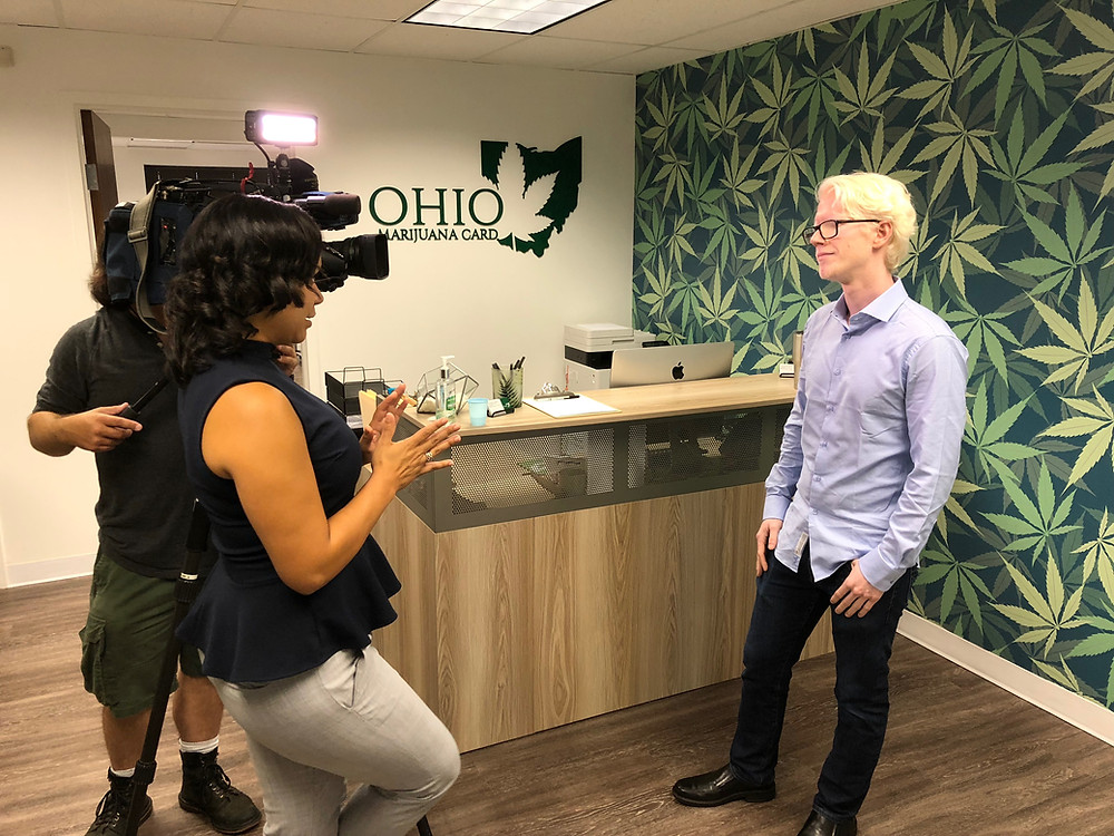Ohio Marijuana Card President, Connor Shore