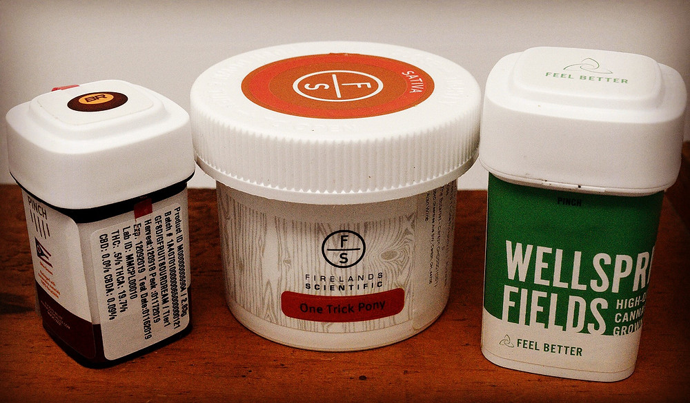Three Firelands Scientific Packages for Ohio Tenth Marijuana Products