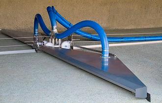Removedor de lodo por vácuo bomba trituradora eta ete remoção de lodo sedimentos estações de tratamento água potável decantador robo automatico limpeza sucção gravidade aumento da capacidade