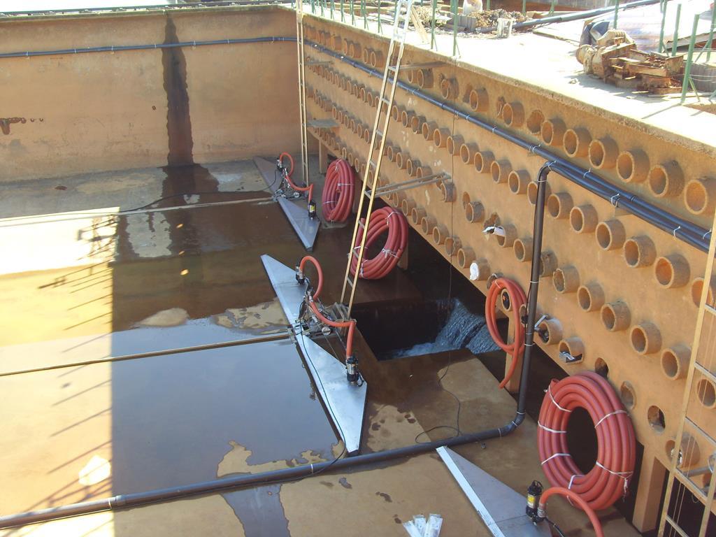 Removedor de lodo Submerso