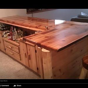 Custom Cedar Bar