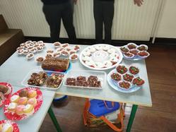6th Class Bake sale