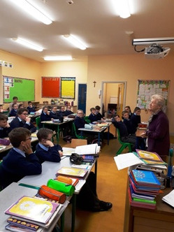 A Visit From Sr Mary Courtney
