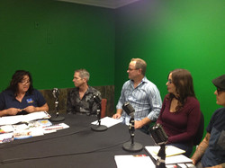 Panel, Lonnora, Sean, Jeff, Jodi, Cris,.
