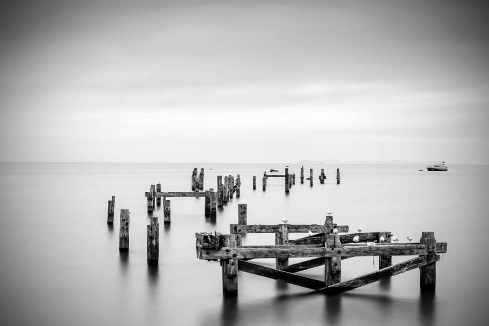 Swanage Pier3 B&W.jpg