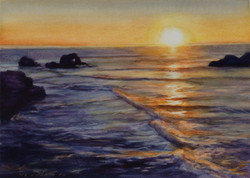 Sunset, Land's end