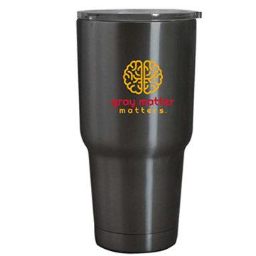 20 oz Black hot/cold travel mug