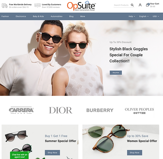 OpSuite ECommerce Fashion