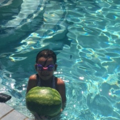 Floating Watermelon Pool Toy