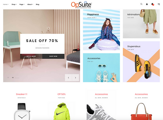 OpSuite ECommerce Children's Shop