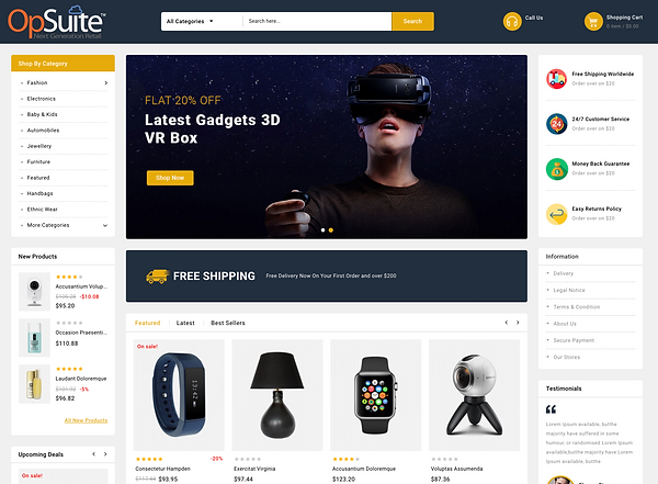 OpSuite ECommerce Tech