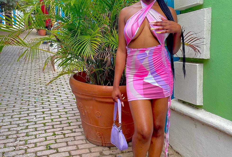 Turks and Caicos Wrap Dress