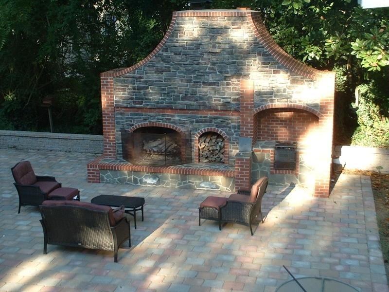 JEFFPRICEpatio fireplace