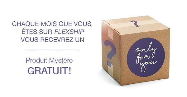 Only for you - cadeau mystère
