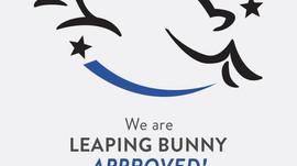 MONAT fait maintenant partie du programme Leaping Bunny!