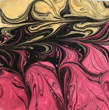 Mouchoir rose et jaune