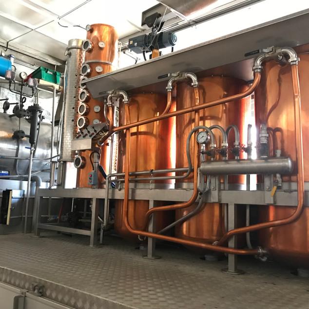 Alambic Bourguignon - Distillerie en Bou