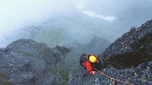Climbing a Mountian