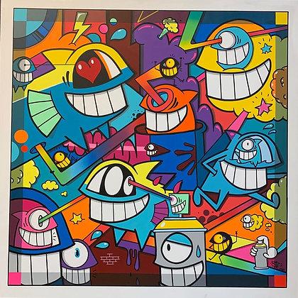 Super Happy Colors- Pez Barcelona