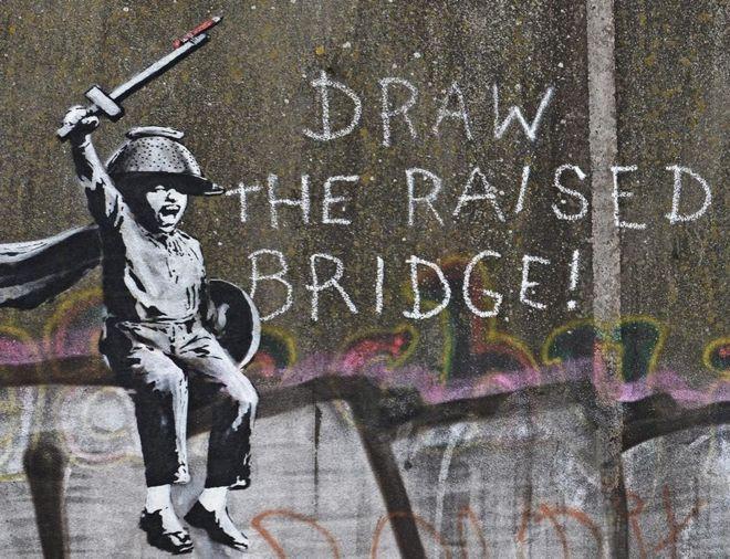 Banksy, Bankside Gallery, Hull city