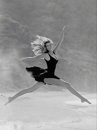 Nikki Taylor, St Barth, 1995