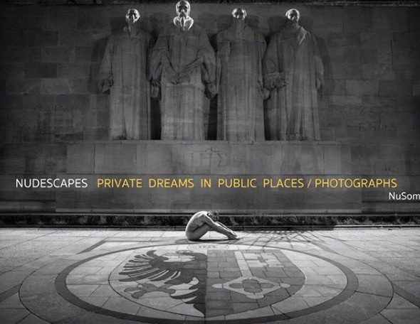 Nudescapes private dreams book by Nu Some Sandrine Lee