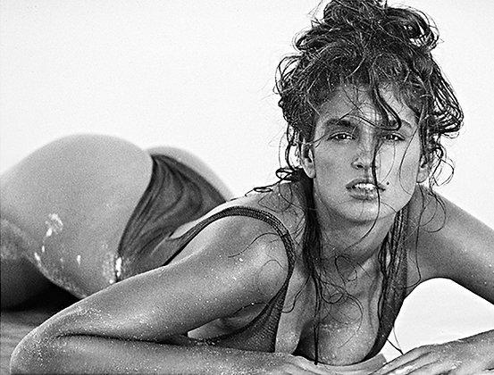 Cindy Crawford, St Barth, 1990
