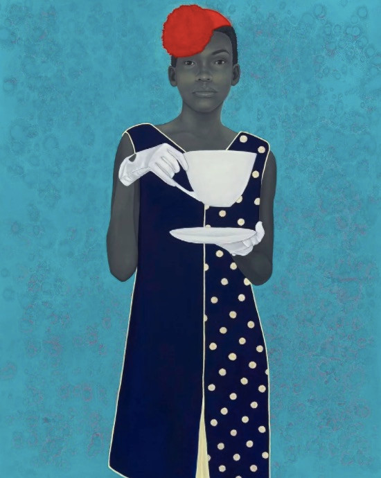 Amy Sherald, African American portrait