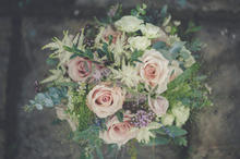 Rustic muted textural bouquet
