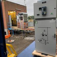Montage NXAir avec notre partenaire Siemens - Manethec - Amay