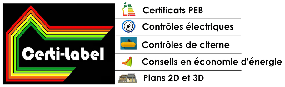 certificats PEB et audits énergétiques Liège, Namur, Luxembourg