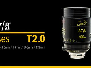 Новая линейка оптики Cooke S7/i
