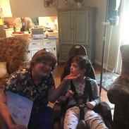 Nurse Nanette and Patient Isabella