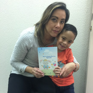 Patient Jose and Mom Maydelline