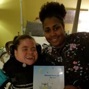 Nurse Curren and Patient Lauren