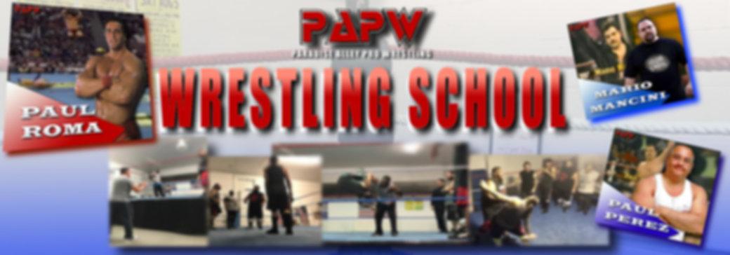 PAPW Wrestling School