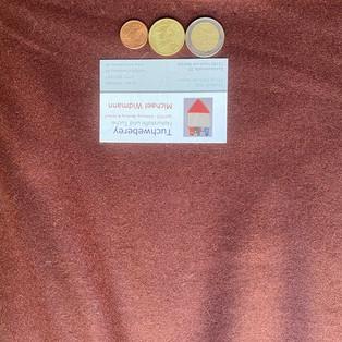 Wolle Loden braun (Rand etwas heller) 30€ WLB34354
