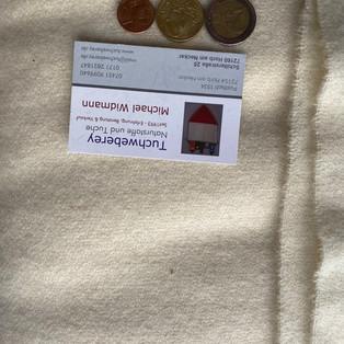 Wolle Tuchbindung 30€ 850gramm WWL W 110