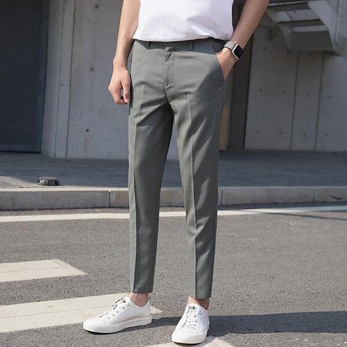 ออฟฟิศ.โอปป้าสายแฟ V.9 กางเกงขาเต่อเอวสูง มีสายคาดเอวด้านหน้าสุดหรู