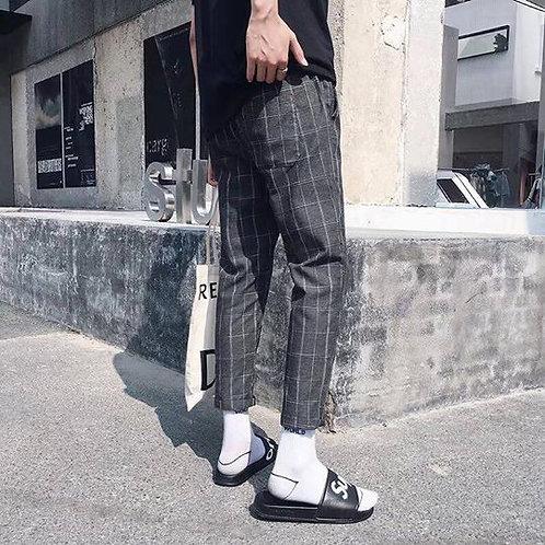 คอลเลคชั่นโคเรีย2020 กางเกงเดฟ 5ส่วนกระเป๋าสองข้าง กระเป๋าหลัง   เอวยางยืด โคเรี