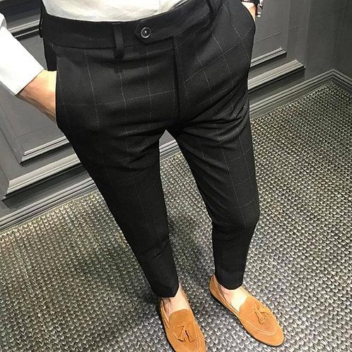ออฟฟิศ.โอปป้าสายแฟกางเกงขาเต่อเอวสูงทรงสวยเข้ารูป เนื้อผ้าไม่ยืด Version 2.2