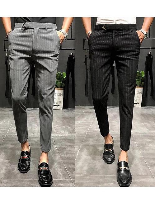 ออฟฟิศ.โอปป้าสายแฟ V.6 กางเกงขาเต่อเอวสูง มีสายคาดเอวด้านหน้าสุดหรูทรงสวยเข้ารูป