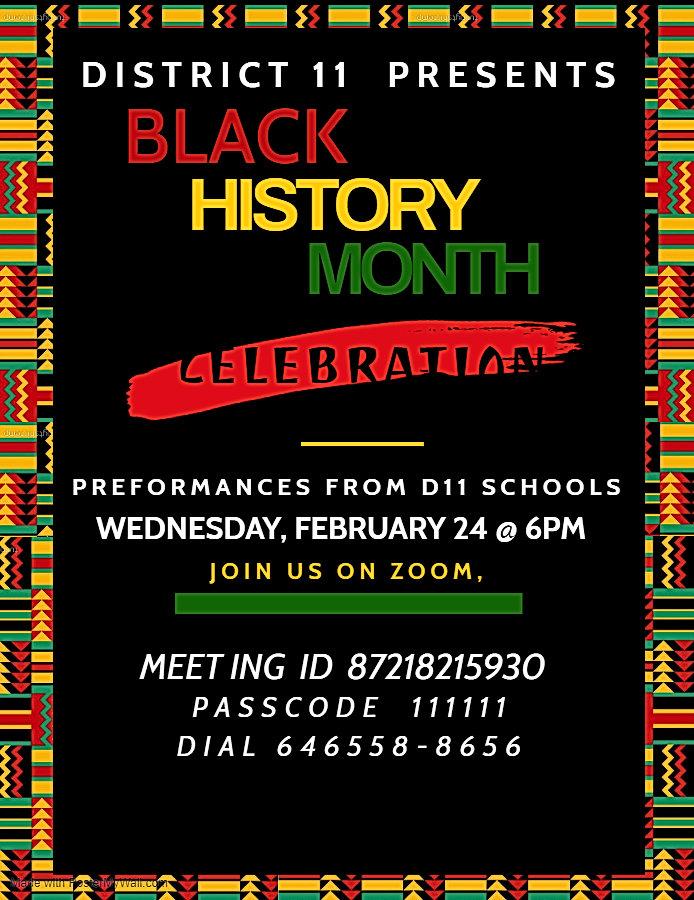 Copy of Copy of Black History Month Flye